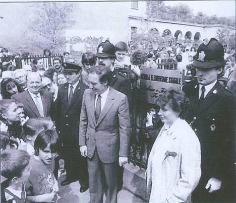 INTITOLAZIONE SCUOLA   FABBRI 20 MAGGIO 1985