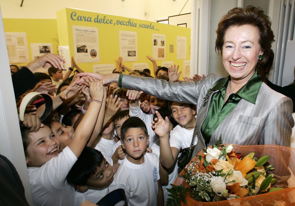 Letizia Moratti ha inaugurato questa mattina la Scuola Primaria